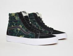#Vans Sk8-Hi Della Batik Black #sneakers