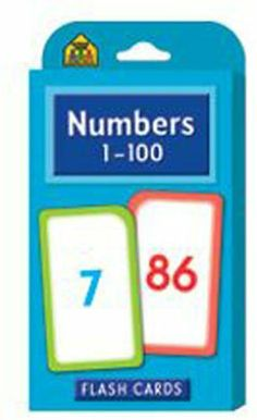 NUMBERS 1-100 FLASH CARDS by School Zone. $9.02. Design is stylish and innovative.. The Parent Cards include additional activities and games.. Numbers 1-100 Flash Cards - SZP04005 - Numbers 1-100 Flash Cards contain 50 two-sided cards that are. Functionality that is Unbeatable.. The cards can also be used to develop grouping addition and subtraction skills.. Numbers 1-100 Flash Cards - SZP04005 - Numbers 1-100 Flash Cards contain 50 two-sided cards that are color-coded...