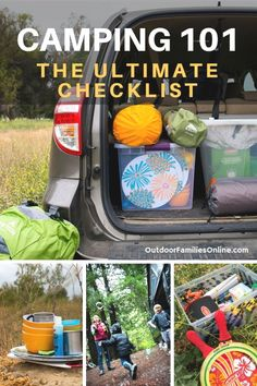 Looking for the ultimate camp hack for a successful family outing? Our ultimate camping packing list + family camping tips gets you organized and outdoors. checklist hacks products tips box camping camping campers caravans trailers travel trailers Camping 101, Camping Supplies, Beach Camping, Camping With Kids, Family Camping, Camping Meals, Camping Stuff, Outdoor Camping, Camping Items