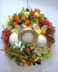 das: Katiallll 91 91792376 Easter Gift, Easter Crafts, Bed Spring Crafts, Craft Kits For Kids, Easter Table Decorations, Easter Traditions, Easter Weekend, Egg Art, Easter Wreaths