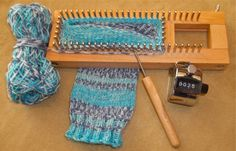 Authentic Knitting Board Sock Loom There's nothing more frustrating for a crafter than owning a pair of knitting needles and having no clue how to use them. The last time I touched my needles, I was a teenager who thought it w… Knitting Loom Socks, Loom Knitting Stitches, Love Knitting, Spool Knitting, Knifty Knitter, Loom Knitting Projects, Knitting Needles, Knit Socks, Cross Stitches