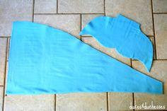 fleece pieces for mermaid blanket