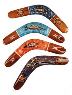 Boomerang beauties from the land down under...