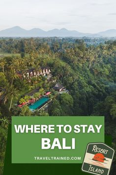 Find out where to stay in Bali and get the best accommodation tips for places to stay in Kuta, Uluwatu, Ubud, Canggu, Seminyak and Nusa Dua.  #bali #indonesia #accommodation #kuta #ubud #uluwatu #canggu #semimyak #hotels #hostels #resorts