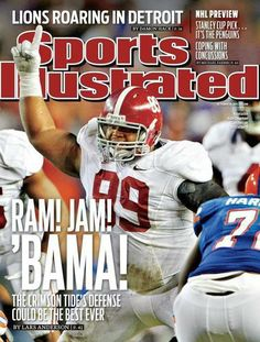 Roll Tide Sport Illustrated !!!!