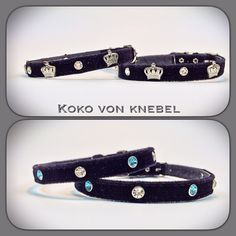 "For ""mini's"" only - our super light-weight Velvet Collar"