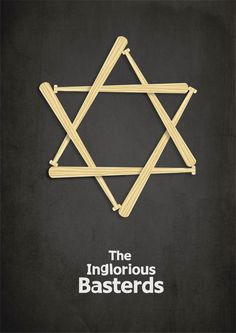 Inglorious Bastards minimal movie poster