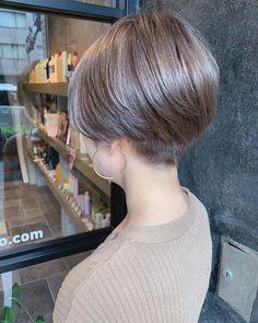 Popular Short Haircuts, Shot Hair Styles, Asian Hair, Pixie, Love Hair, Short Hair Cuts, Hair Makeup, Hair Color, Hair Beauty