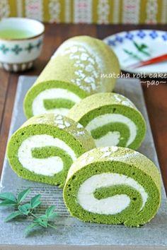 「抹茶のティラミスロールケーキ」ぱお | お菓子・パンのレシピや作り方【corecle*コレクル】