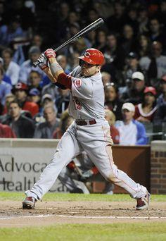 Joey Votto Photo - Cincinnati Reds v Chicago Cubs