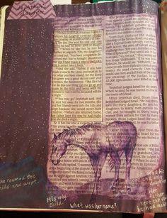 Jephthah's daughter judges 11 bible journaling Vash, Illustrated Faith, Bible Journal, Judges, Bible Art, Art Journaling, Creative Art, Cool Words, Worship