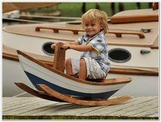 Maine Dory Rocking Boat