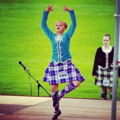 Tartan, Scotland, Dancing, Aqua, Velvet, Style, Fashion, Swag, Moda