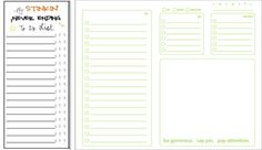 TO DO LISTS ARE MY FAVORITES!!! FREE PRINTABLES! CHECK IT OUT!!! ;)