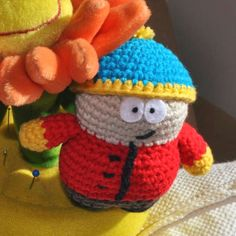 http://wixxl.com/easy-cartman-south-park-amigurumi-pattern/ Charming Eric Cartman – South Park Amigurumi Pattern