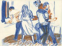 DÉPAYSAGE - EXPOSITION À AIX EN PROVENCE L'équipe du festival Rencontres du 9eme art d'Aix en Provence m'invite pour l'été à exposer fusains et dessins et peintures et pages de bande dessinée dans la galerie de l'Office du tourisme. ht...