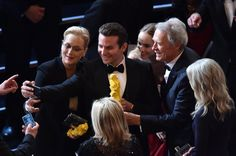 Pin for Later: Die 55 besten Bilder der Oscars 2015 Meryl Streep, Bradley Cooper, Suki Waterhouse und Clint Eastwood