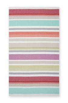 Bright Striped Lightweight Beach Towel