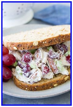 71 chicken salad made with canned chicken recipe #chicken #salad #made #with #canned #chicken #recipe Please Click Link To Find More Reference,,, ENJOY!! Arby's Chicken Salad Sandwich Recipe, Arbys Chicken Salad, Chicken Salad With Grapes, Easy Sandwich Recipes, Easy Salad Recipes, Gourmet Chicken Salad Recipe, Chicken Salad Nutrition, Pecan Chicken, Chicken Salads