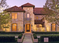 Tuscany Villa in Highland Park, Texas | Richard Drummond Davis Architects