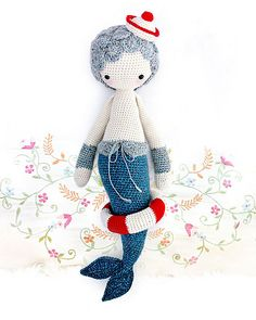 Ravelry: lalylala MICI the mermaid pattern by Lydia Tresselt