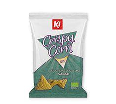 Crispy corn all'olio d'oliva #Bio #BioFood #cleaneats #healthy #organicfood #organicfood #biologico #snack