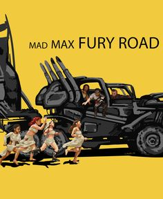 Mad Max Fury Road fan art