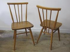 Ercol chairs - time to sand our kitchen chairs   Lovely design