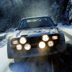 1985 Audi Sport Quattro S1 E2 - For All the Group B Rally Fans and another sweat poster for the garage.