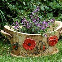 Zboží prodejce lavender / Zboží | Fler.cz Kos, Zentangle, Planter Pots, Lavender, Pottery, Clays, Barbell, Drawings, Ceramica