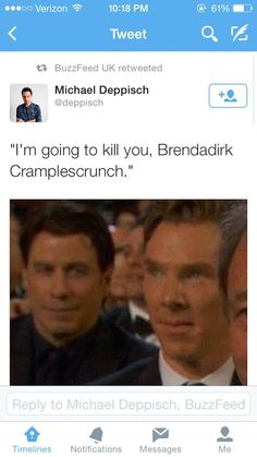 Times when no one even tried to get Benedict Cumberbatch's name right...haha!