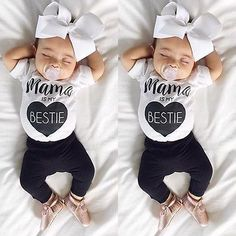 Newborn Infant Baby Boys Girls Bodysuit Romper Jumpsuit Outfits Sunsuit Clothes in Clothing, Shoes & Accessories, Baby & Toddler Clothing, Girls' Clothing Outfits & Sets The Babys, Fashion Kids, Baby Girl Fashion, Toddler Fashion, Style Fashion, Fashion 2015, Baby Girl Romper, My Baby Girl, Baby Bodysuit