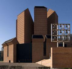 Church of Santo Volto (Chiesa del Santo Volto) Turin Italy (2006) | Mario Botta