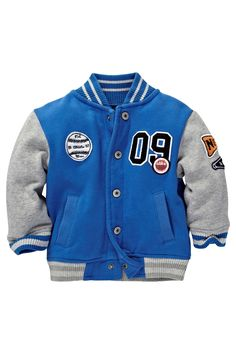 Buy Cobalt Letterman Jacket (3mths-6yrs) from the Next UK online shop
