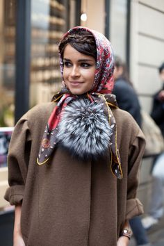 Haute Couture Street Style: Spring 2013