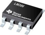 O LM386 ou JRC386 é um dos circuitos integrados amplificadores mais usados, a razão é bem simples, sua versatilidade e consumo. Foi projetado para ser um amplificador de áudio.