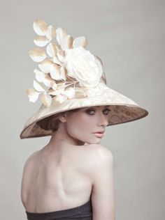 Couture Derby Hat by ArturoRios on Etsy, $194.00@ Brooke Stanley for your next polo match. Let me know when you want one!
