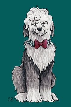 Artist Draws Doctor Who Perfectly As Doctors Dog Breeds | The Mary Sue