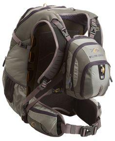 William Joseph Coastal Fly Fishing Vest Backpack Chest Pack Bag AirTrack - Sage #WilliamJoseph