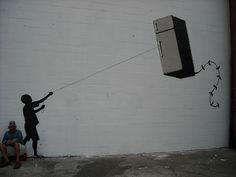 Banksy - New Orleans - Fly this! : バンクシー(banksy)の作品画像コレクション - NAVER まとめ
