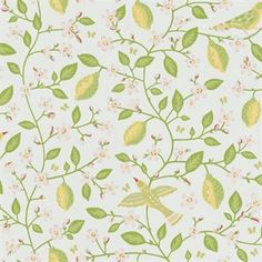 Give your home a new style with the wonderful Amalfi wallpaper from Sandberg Tyg