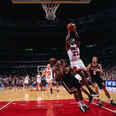 95cc05fb00e Michael Jordan of the Chicago Bulls goes up for a shot against Voshon Lenard  of the Miami Heat in Game Two of the Eastern Conference Finals during the  1997 ...