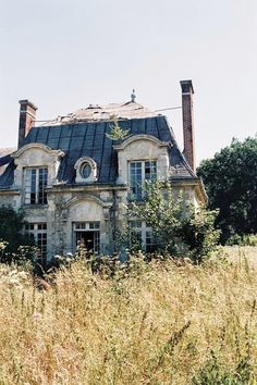 An abandoned house in France--I could live in that :)