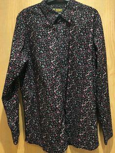 da481cd13 Joe Browns Mens Ultimate Shirt Large 100% Cotton Long Sleeve Black Pink  Floral #fashion #clothes #shoes #accessories #mensclothing #shirtstops  (ebay link)