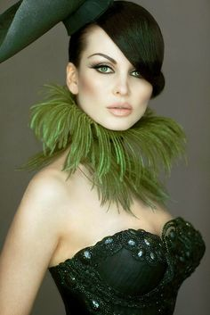 Emerald city. Not crazy about the neck piece,but LOVE the top!
