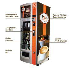 Get an Espresso Bar 24/7 with Fresh Healthy Vending's Cafe' Machine!