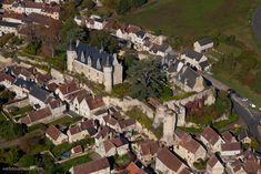 ✈️ Photo aérienne de : Montrésor - Indre-et-Loire (37)