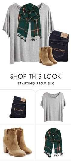 """just saw mocking jay part 2"" by gourney ❤ liked on Polyvore featuring Abercrombie & Fitch, Chicnova Fashion, Laurence Dacade and Humble Chic"