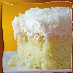 Hawaiian Wedding Cake... Easy Tropical Cake (from scratch)