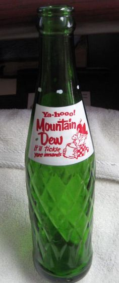 Ya hoo Mountain Dew - there's a bang in every bottle!